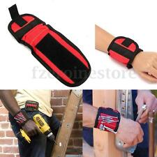 MAGNETIC WRIST BAND WRISTBAND TOOL BELT TOOL TRAY PARTS DISH MAGNETIC DISH RED