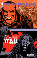 IMAGE COMICS THE WALKING DEAD #158 COVER A CHARLIE ADLARD WHISPERER WAR PT. 2
