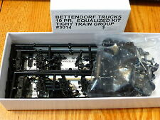 Tichy Train Group #3014 Freight Car Trucks Equalizer added -- Bettendorf 10 Pair