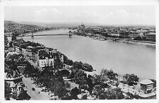 B35990 Budapest general view of the Danube  hungary