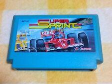 """FC """"SUPER SPRINT"""" 1991 ATARI JAPANESE NES NINTENDO FAMICOM Ship to USA $4.99"""