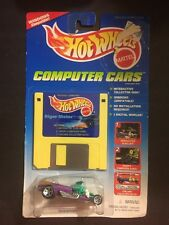 HOT WHEELS COMPUTER CARS RIGOR MOTOR NEW WITH FLOPPY DISC @1995