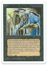 Magic MTG Unlimited Lich - Vintage Legacy the Gathering Very Rare Eternal Black