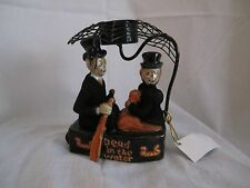 2011 Yankee Candle Boney Bunch Dead in the Water Tea Light Holder NEW