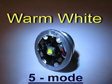 xm-l T6 5 mode warm white LED module for C8 / M6 FLASHLIGHT  # 368