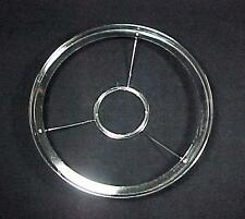"""Lamp Shade Ring Holder Nickel Pl Brass 10"""" for CD Rayo 2 13/16"""" Ctr Kerosene Oil"""