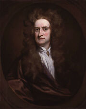 1702 Scientist SIR ISAAC NEWTON Glossy 16x20 Photo Print Oil Painting Poster