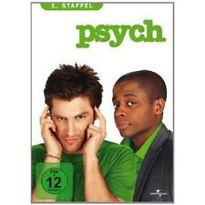 PSYCH - SEASON 1 4 DVD MIT JAMES RODAY NEU