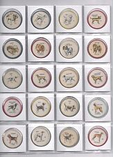 1961 Humpty Dumpty Famous Dogs of the World COMPLETE (60/60) Coin set !
