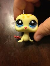 Littlest Pet Shop #1561 Yellow Seal Sea Lion With Blue Eyes