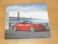 Ferrari California Hardback Brochure Book 2008-2011