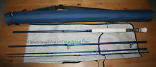 Pike Master Fly Rod 4 pc #9/10 darkblue blank rod tube/bag FREE POSTAGE