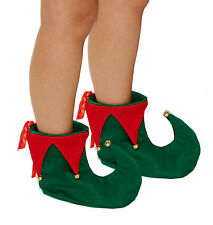 Jester Felted Elf Pixie Boots Shoes Slippers Christmas Costume Size Adult New