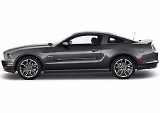 Fits Ford Mustang 2015-2016 Painted Body Side Door Moldings W/Chrome Insert