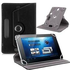 "360° Folio PU Leather Box Case Cover For Universal Android Tablet PC 7"" w/ Styus"