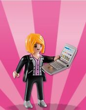 Playmobil Mystery Figure Series 8 5597 Lady Executive Laptop Computer Female CEO