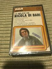 NICOLA DI BARI SUNG IN SPANISH CASSETTE TAPE BEST OF RCA LINEATRES