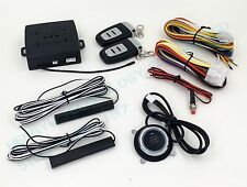 PKE car alarm push start stop button,keyless entry,remote engine start 904 RM2