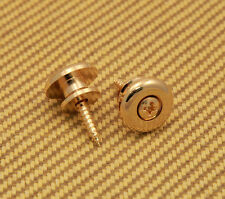 EOSB-G Gold Large Oversized Guitar / Bass Strap Buttons & Screws