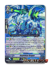 Cardfight Vanguard  x 4 Amphibian Dragon - G-FC02/045EN - RR Mint