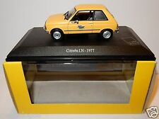 UNIVERSAL HOBBIES UH CITROEN LN 1977 POSTES POSTE PTT 1/43 in luxe box