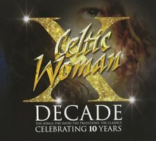 CELTIC WOMAN DECADE 4CD BOX SET 60 SONGS A PERFECT GIFT FREE UK P&P