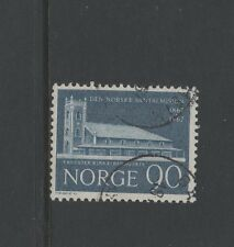 NORWAY 1967 SANTAL MISSION 90 ore BLUE Fine Used
