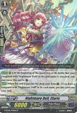CARDFIGHT VANGUARD CARD: NIGHTMARE DOLL, CLARIS - G-BT08/038EN R