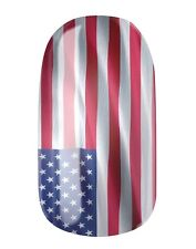 NAGELFOLIEN... NAIL WRAPS by GLAMSTRIPES - USA FLAGGE - 0411