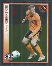PANINI 2009-S.P.L.COLLECTION-#103-DUNDEE UNITED-SCOTT ROBERTSON IN ACTION-FOIL