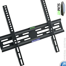 "Slim TV Mount Wall Bracket Flat Fixed LCD LED PLASMA For 30""-55"" Fit HITACHI"