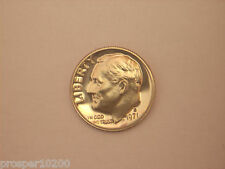 """10 cents """"Roosevelt Dime"""" cupronickel 1971 S"""