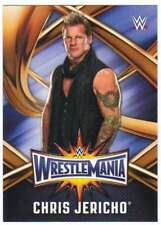 2017 Topps WWE Road to WrestleMania 33 Roster Insert #WMR-18 Chris Jericho