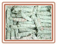 "LOT of 9 WHITE Sage Smudge 4.5"" to 5"" Stick House Cleansing Negativity Removal"