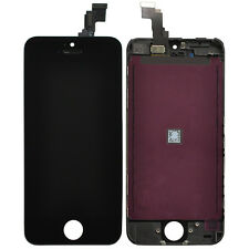 Black Replacement LCD Touch Screen Digitizer Assembly for iPhone 5C + Tools Kit