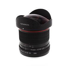 Albinar 8mm f/3.5 Fisheye Lens for Canon EOS 7D 6D 5D 70D 60D T5i T5 T3i T3 100D