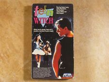 TEEN WITCH ROBYN LIVELY COMEDY VHS RARE 1ST EDITION ORIGINAL RELEASE 1989 MEDIA
