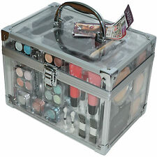 Technic Cosmetics Beauty Large Clear Box Carry Christmas Gift Make Up Storage