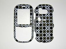 SAMSUNG INTENSITY/DOUBLE TAKE U450 BUBBLES AND CIR. GLOSSY PROTECTOR COVER  NEW