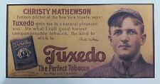 "Christy Mathewson Tuxedo Trolley (Reproduction) 11"" x 22"""