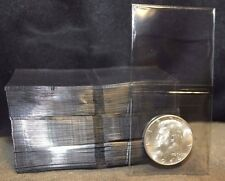 100 2x2 Coin Holders Grading Submission Flips TCDC Non PVC Plastic Double Pocket