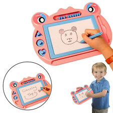 Dazzling Toys Magnetic Drawing Board Kids Doodle Drawing Writing Pink Sketch Pad