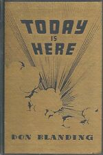 Today is Here by Don Blanding (1946, Hardcover)