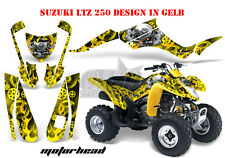 Amr racing decoración Graphic kit ATV suzuki ltz & Kawasaki KFX Motorhead B