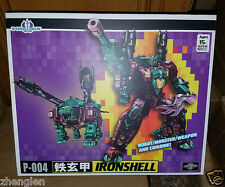 New Transformers TFC P-004 P-04 Poseidon Ironshell Snaptrap Piranacon in Stock