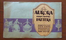 Perforated Pattern AURORA Cone Decoration 1920s A Sartorius Co NYC Art Deco