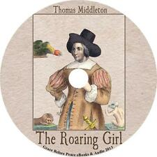 The Roaring Girl, Thomas Middleton Comedy Adventure Audiobook on 3 Audio CDs