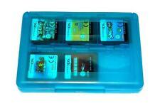 Blau Game Case Spiele Aufbewahrungsbox 24 DS für Nintendo DSi 3DS