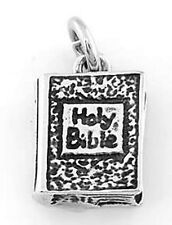 STERLING SILVER 925 HOLY BIBLE CHARM/PENDANT