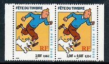 STAMP / TIMBRE FRANCE NEUF N° 3304 ** FETE DU TIMBRE / TINTIN / ISSUS DE CARNET